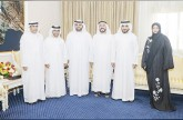 محمد بن حمد يستقبل أمين عام صندوق الزكاة