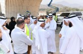 إنجاز المرحلة الـ 2 لمشروع امتداد شارع الإمارات في رأس الخيمة يوليو 2018