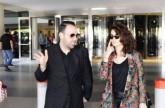 وصول التركية سونغول أودان المعروفة بنور إلى مطار بيروت
