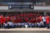 بالصور: طلاب جامعة بورسعيد يتقمصون شخصية محمد صلاح