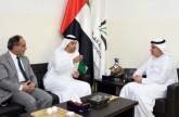 جامعة الفلاح تبحث التعاون مع المكتب الإعلامي لحكومة الشارقة