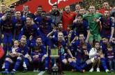 برشلونة يكتسح إشبيلية بخماسية ويتوج بكأس ملك إسبانيا