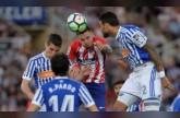 سوسييداد يسقط أتلتيكو مدريد بثلاثية ويقرب برشلونة من اللقب