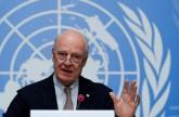 دي ميستورا: الأمم المتحدة تدفع المفتشين لإنجاز مهمتهم في دوما السورية