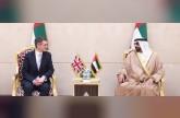البواردي يستقبل وزير الدفاع البريطاني