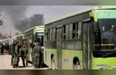 خروج مسلحي القلمون الشرقي إلى شمال سوريا