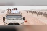 محمد بن زايد يشهد ختام فعاليات التمرين العسكري حماة الوطن 2