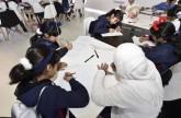 أطفال الشارقة القرائي يرسمون على طريقة المانغا اليابانية