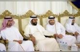 طحنون بن محمد يعزّي في وفاة عبدالرحمن الدرمكي