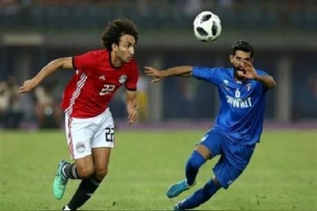 مصر تتعادل مع الكويت استعدادا للمونديال