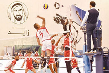 Team F3 clinch NAS Volleyball title