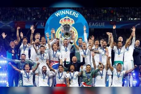 تهنئة برشلونية لريال مدريد بتتويجه بلقب دوري الأبطال