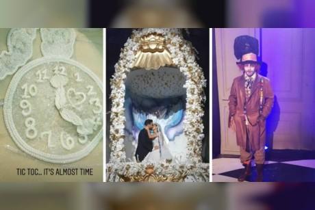 أليس في بلاد العجائب... زفاف الأحلام وقالب حلوى الأكبر في العالم (صور وفيديو)