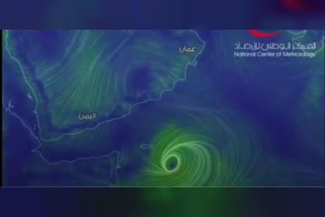 الأرصاد: الإعصار مكونو يتحول إلى الفئة الثانية صباح يوم السبت