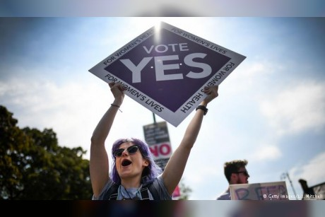 Exit polls: Ireland votes to liberalize abortion laws