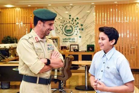 Dubai Police chief grants Indian student's birthday wish