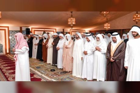 محمد بن راشد يستقبل أصحـاب الفضيلة العلماء والوعاظ