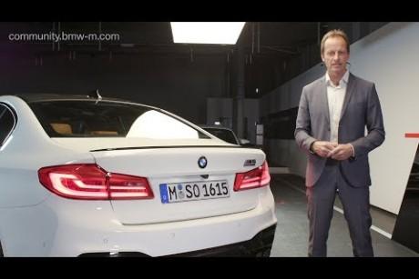 فيديو رسمي يكشف تفاصيل BMW M5 Competition 2019