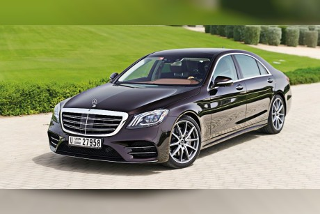 Mercedes-Benz S 450: Ace of base
