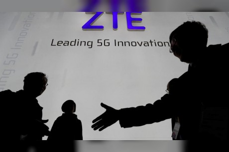 Trump says US would allow Chinas ZTE to remain in business after paying $1.3bn fine