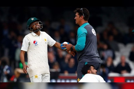 Setback for Pakistan as Babar Azam is ruled out of series due to fractured wrist