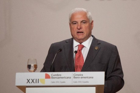 Ex-Panama president blames USA for extradition