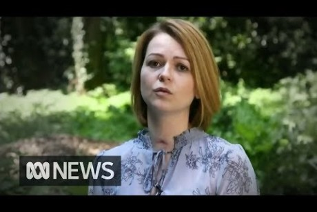 Ex-spys daughter Yulia Skripal says she is lucky to be alive after nerve attack