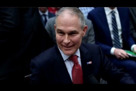 Scott Pruitt spent $3.5 million on security during first year in office