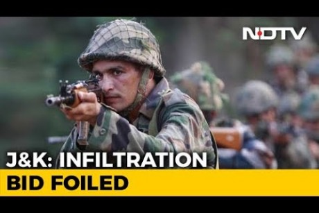 Infiltration Bid Foiled In North Kashmirs Tangdhar, 4 Terrorists Killed