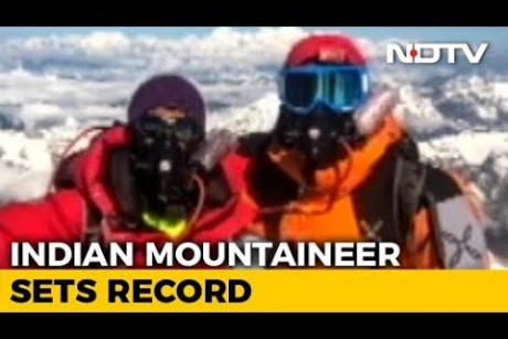 Worlds Youngest Mountaineer To Summit All Peaks Over 8000 m Is An Indian