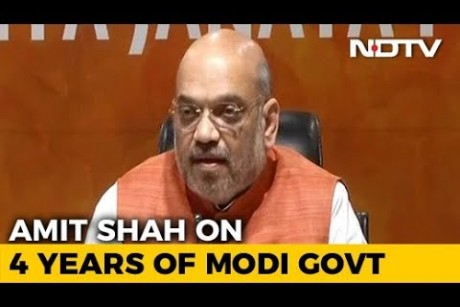 NDA Rules Over 65% Of Country, Says Amit Shah