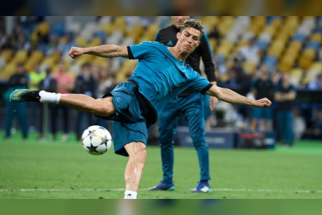 Best pictures as Cristiano Ronaldo and his Real Madrid team-mates train before Champions League final