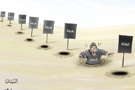 النهاية.. الحوثيون.. هزيمة