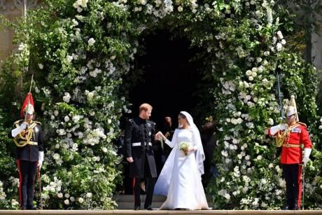 زفاف ملكي للأمير هاري وميغن ماركل