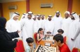 40 لاعباً ولاعبة يدشنون بطولة عبدالله بن جمعة للشطرنج