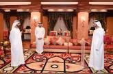 أمام محمد بن راشد : مكتوم بن محمد يؤدي اليمين كرئيس لجهاز الرقابة المالية في حكومة دبي
