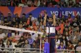 إسماعيل إبراهيم يحكم في بطولة الأمم للطائرة