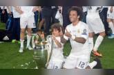 بالفيديو.. شاهد ابن مارسيلو لاعب ريال مدريد ماذا فعل في غرفة اللاعبين