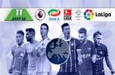 الأبطال يسيطرون على التشكيلة المثالية في الدوريات الأوروبية الكبرى