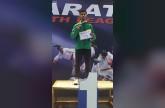 رياضي / محمد العسيري يحقق ذهبية الدوري العالمي للكاراتيه في بلغاريا