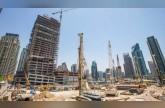 ما سبب نمو قطاع البناء في الإمارات مقارنة بدول العالم؟