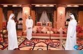 أمام محمد بن راشد.. نائب حاكم دبي وعبدالله غباش يؤديان اليمين القانوني