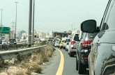 Traffic woes in Dubai due to accidents
