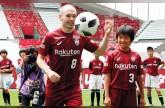 إنييستا يعد مشجعي فيسل كوبي الياباني بـ «المجد الآسيوي»