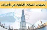 إنفوجراف.. تحويلات العمالة الأجنبية في الإمارات