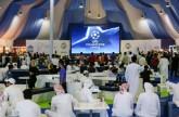 عرض المباراة على شاشة عملاقة بتقنية 4K حمدان بن محمد يتابع نهائي أبطال أوروبا وسط جمهور دورة ند الشبا الرياضية