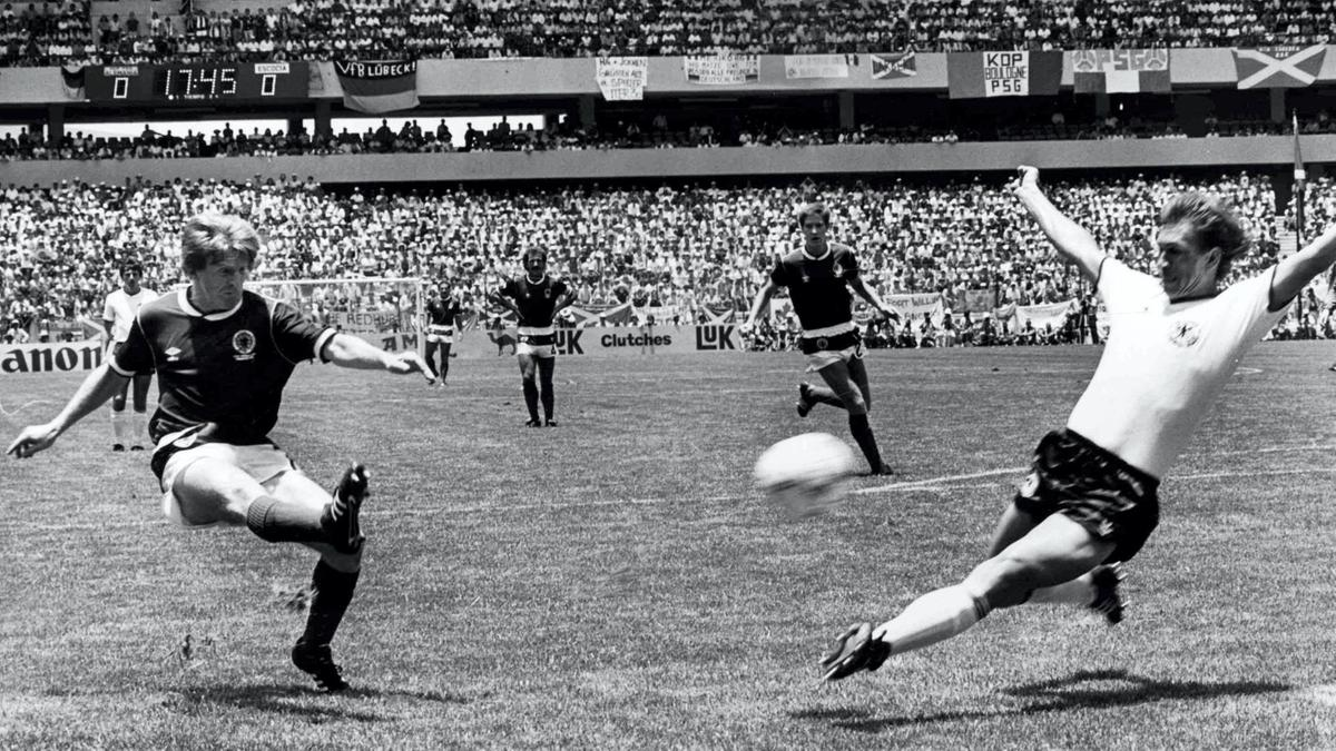 My favourite World Cup moment: Gordon Strachan's screamer at Mexico 86 - Dotemirates