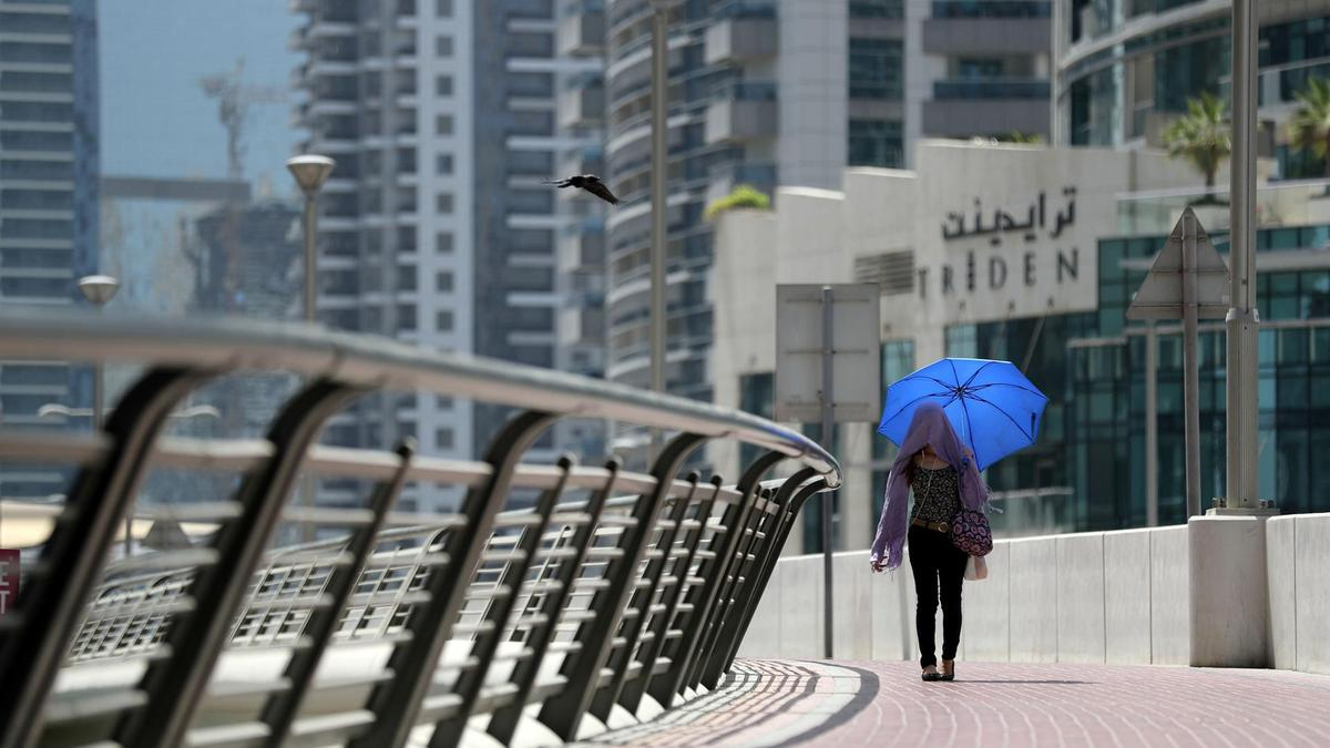 UAE weather: Temperatures to drop during the weekend after reaching 47°C today - Dotemirates