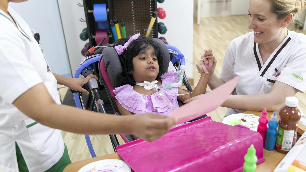 Family hope for recovery of Emirati 7-year-old left quadriplegic by hit-and-run - Dotemirates