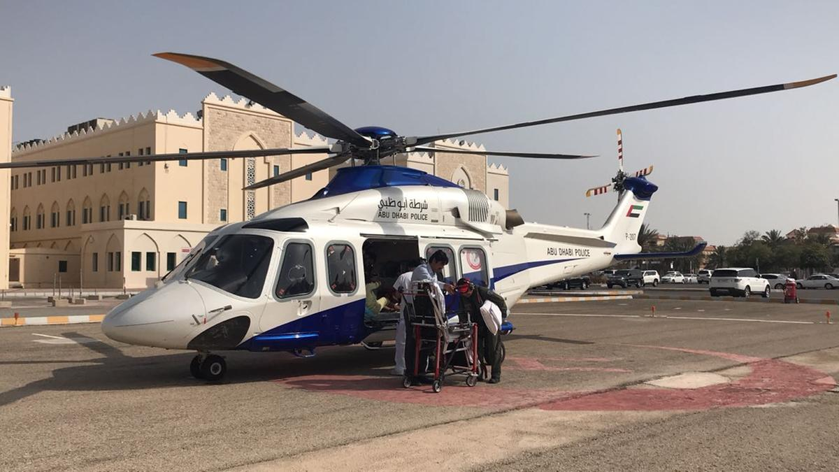 Ten-year-old girl airlifted to Abu Dhabi hospital for emergency care - Dotemirates